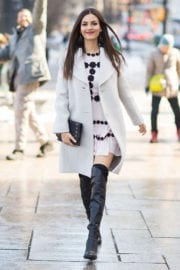 Victoria Justice Out and About in New York February 2017