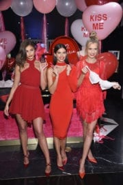 Victoria's Secret Angels Promotes VS Valentine Day Collection in New York