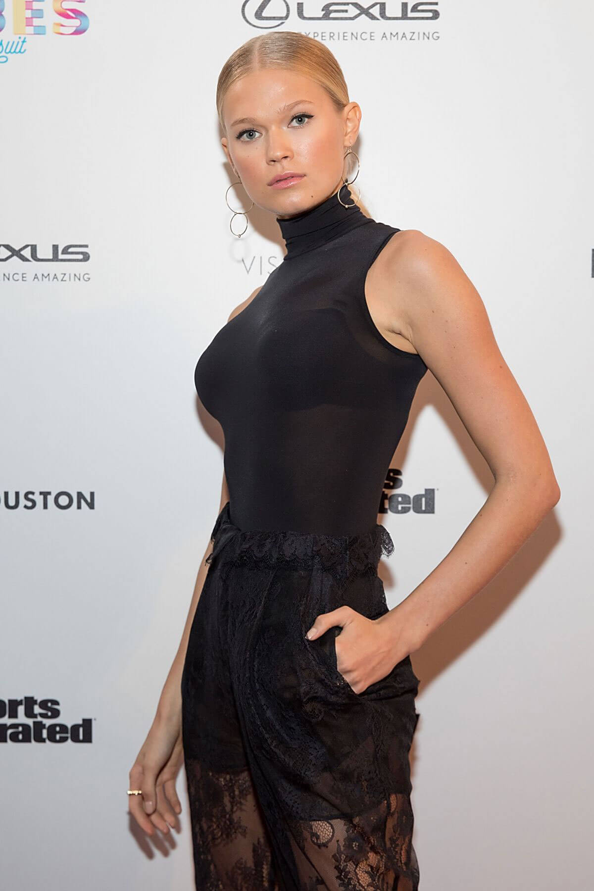 Vita Sidorkina Stills at VIBES by SI Swimsuit 2017 Launch Festival in Houston