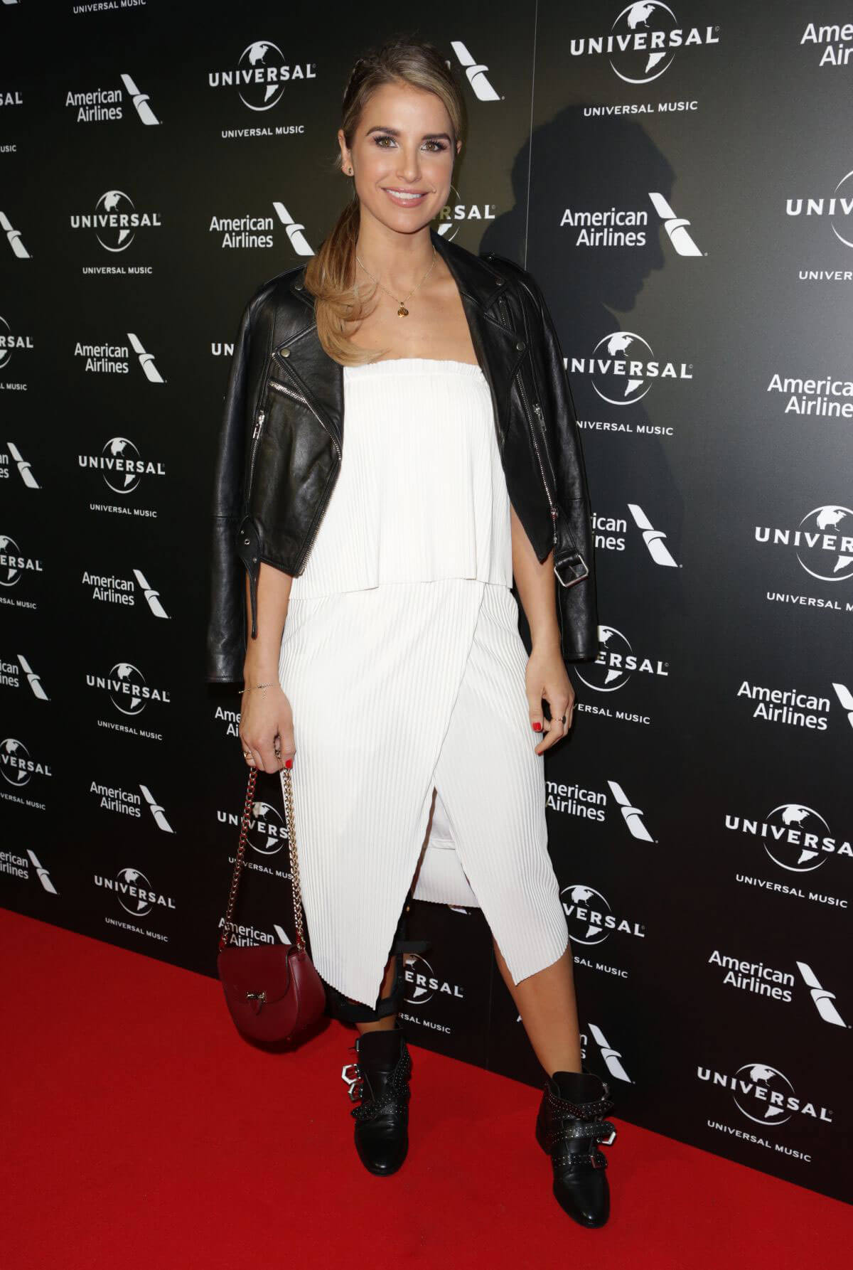 Vogue Williams Stills at Universal Music Pre-brit Award Party in London