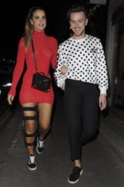 Vogue Williams Stills Night Out in London