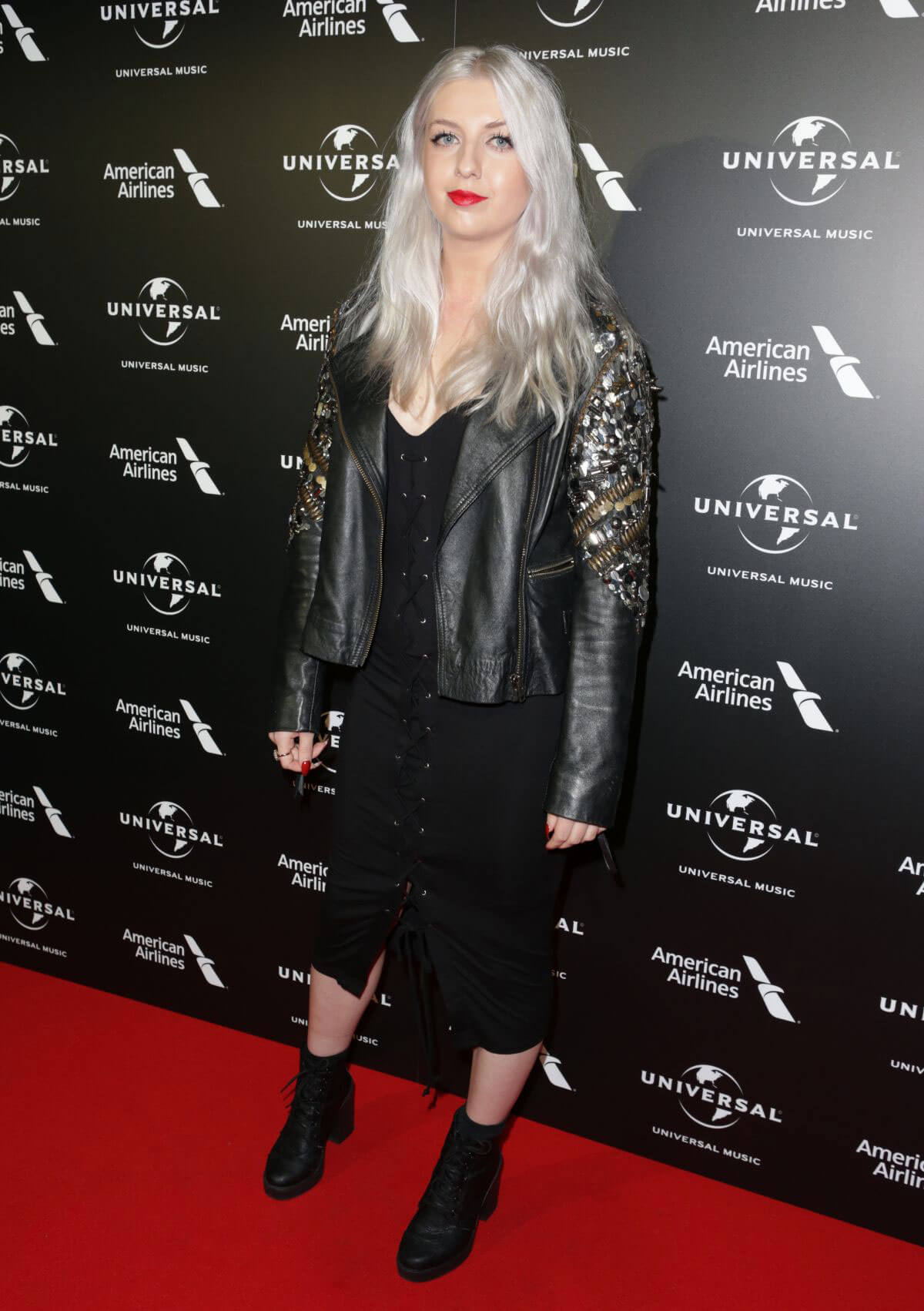 Vuda Stills at Universal Music Pre-brit Award Party in London