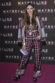 Xenia Tchoumitcheva Stills at Maybelline's Bring on the Night Party in London