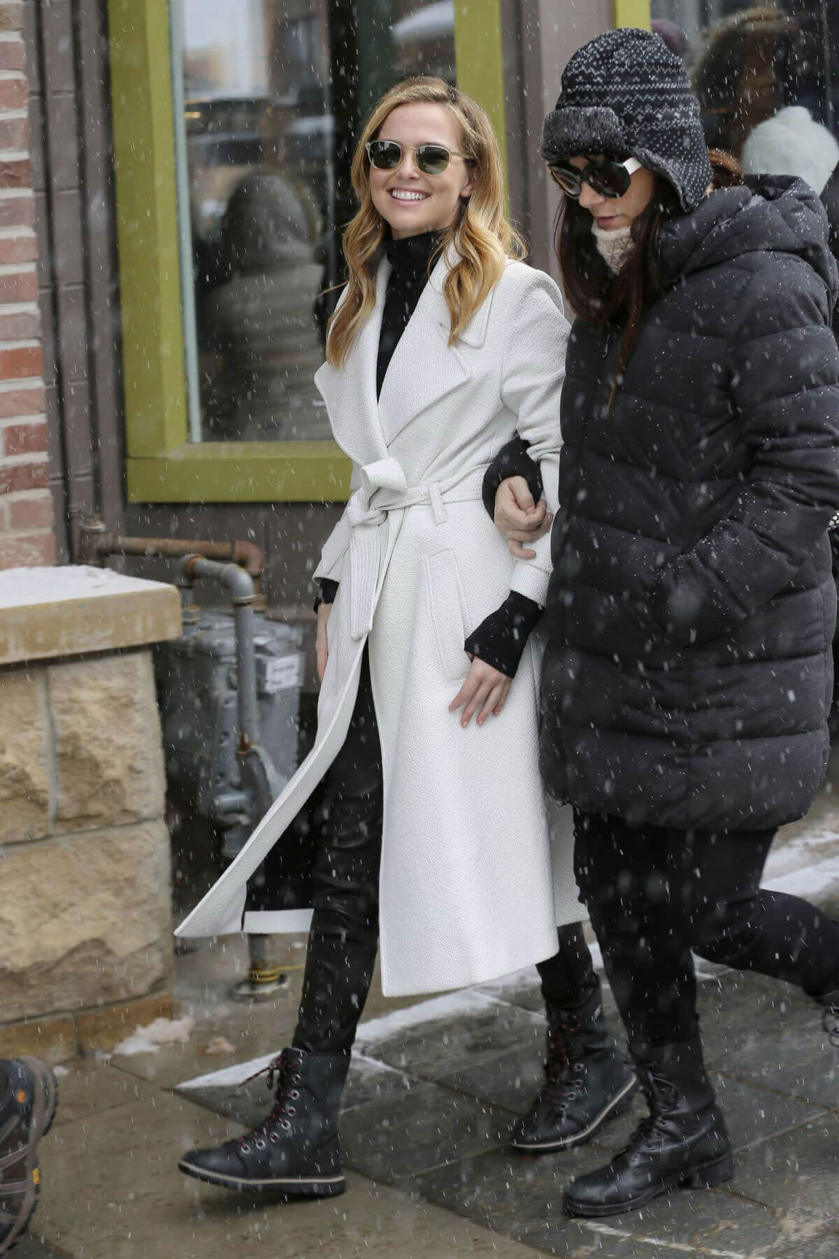 Zoey Deutch Out and About in Park City