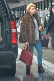 Zosia Mamet at LAX Airport in Los Angeles
