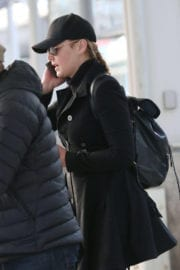 Abbie Cornish Stills at Pierre Elliot Trudeau Airport in Montreal
