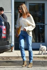 Alessandra Ambrosio Photos Out in Santa Monica