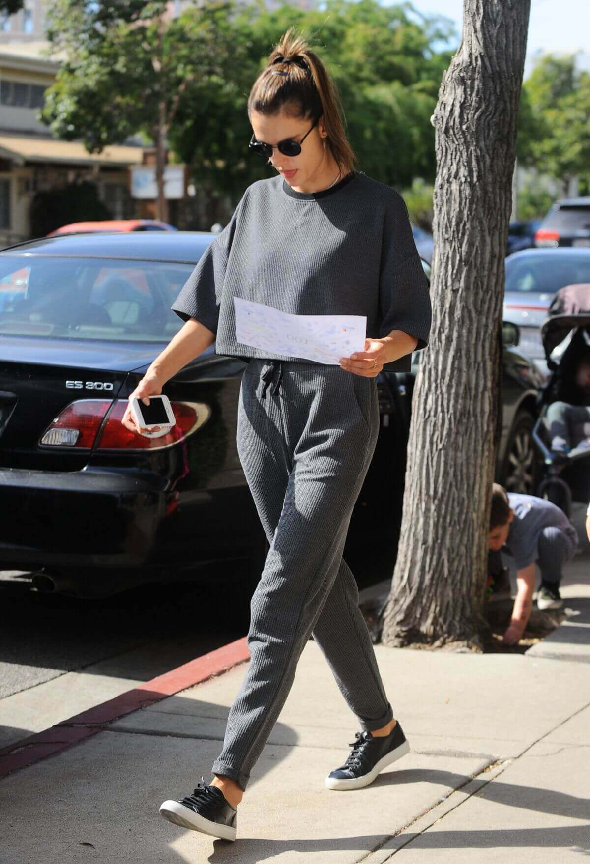 Alessandra Ambrosio Stills Out and About in Los Angeles