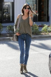 Alessandra Ambrosio Stills Out for Shopping in Beverly Hills