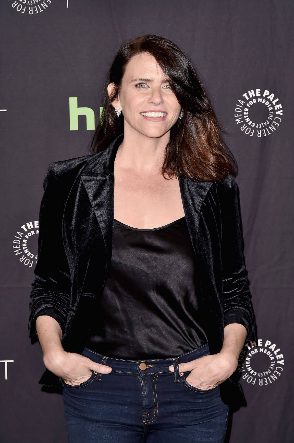 Amy Landecker Stills at Paleyfest in Los Angeles