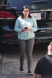 Ariel Winter Stills on the Set of Modern Family in Los Angeles