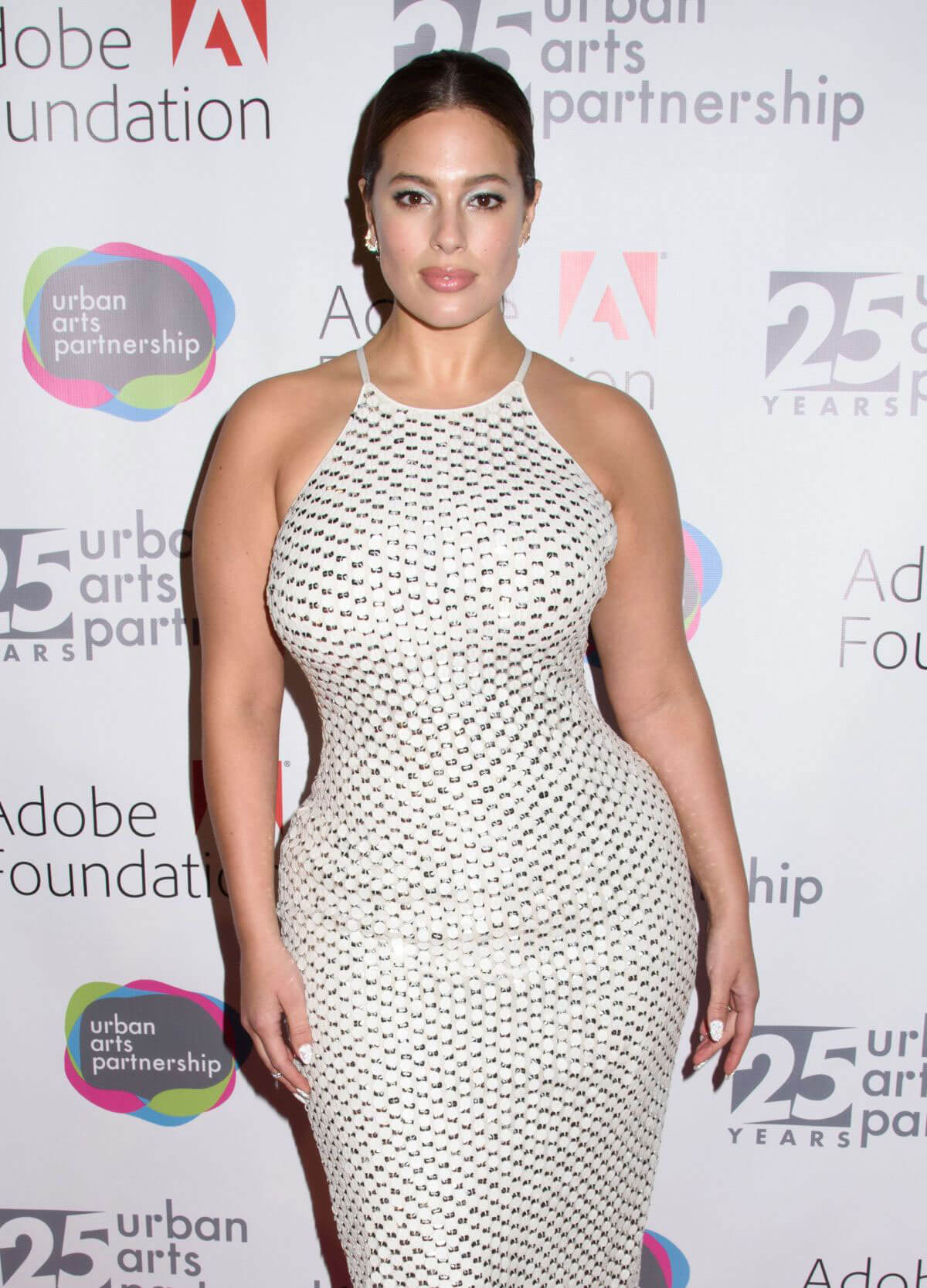 Ashley Graham Stills at Urban Arts Partnership 25th Anniversary Benefit in New York