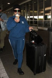 Blac Chyna Stills at LAX Airport in Los Angeles