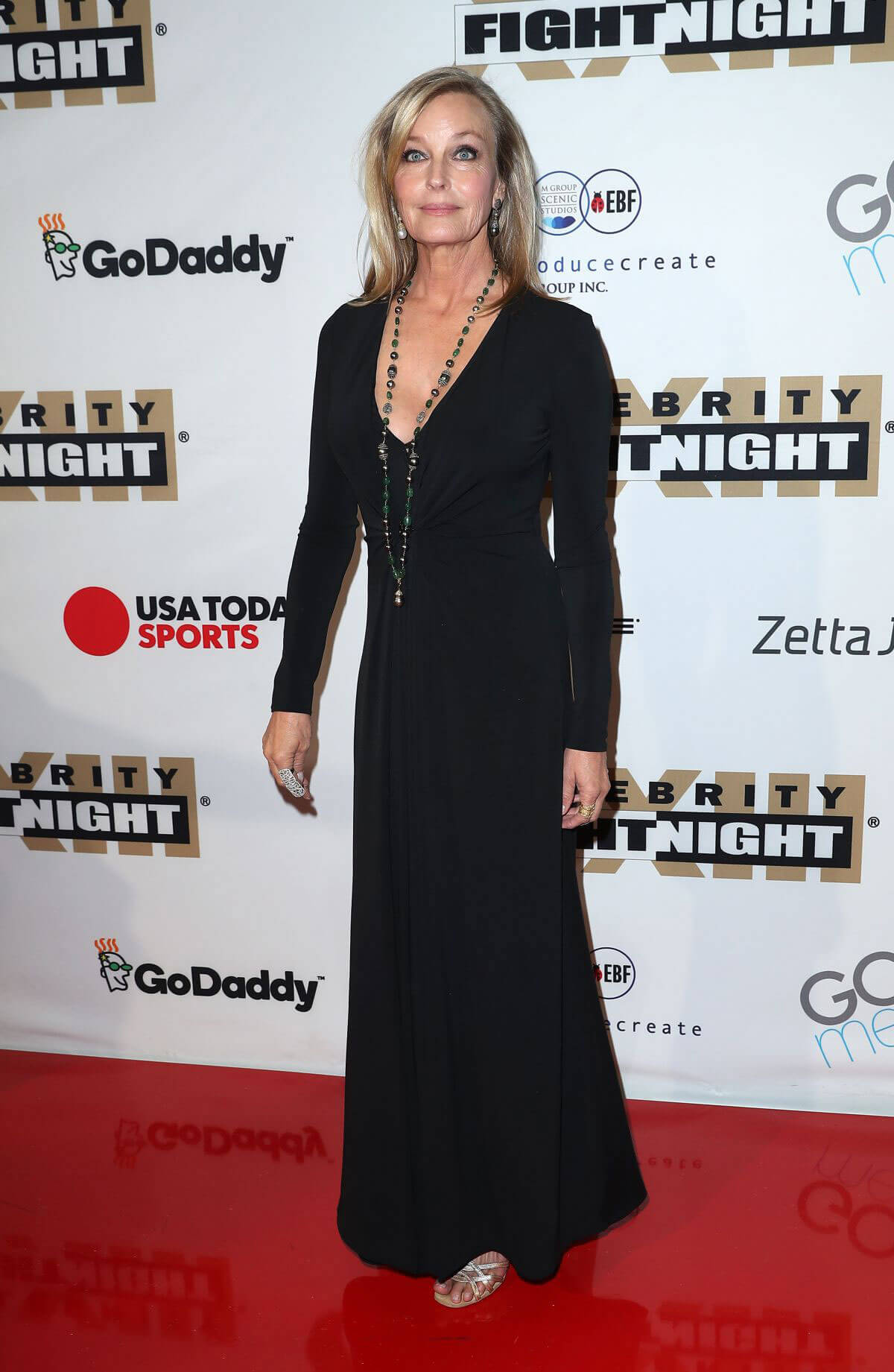 Bo Derek Stills at Muhammad Ali's Celebrity Fight Night in Arizona