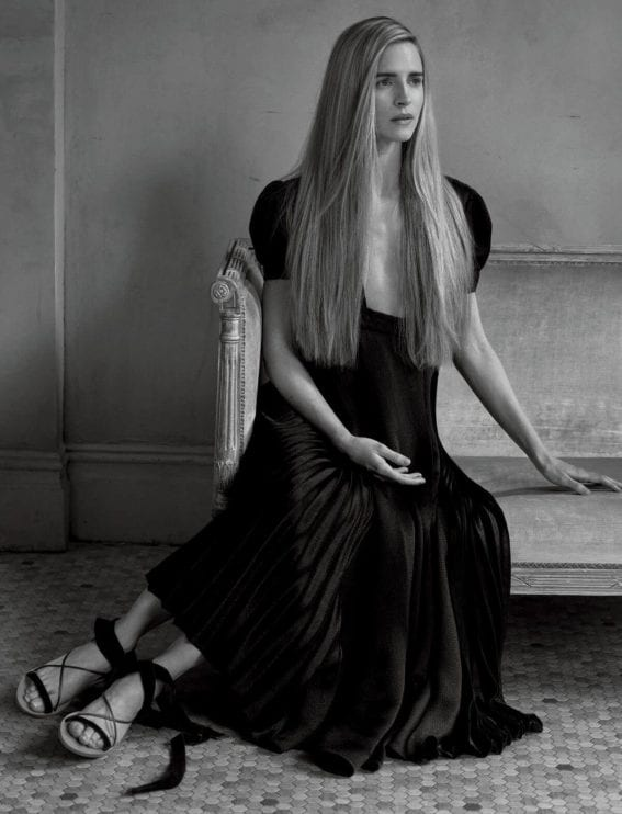 Brit Marling Photoshoot for Interview Magazine March 2017 Issue