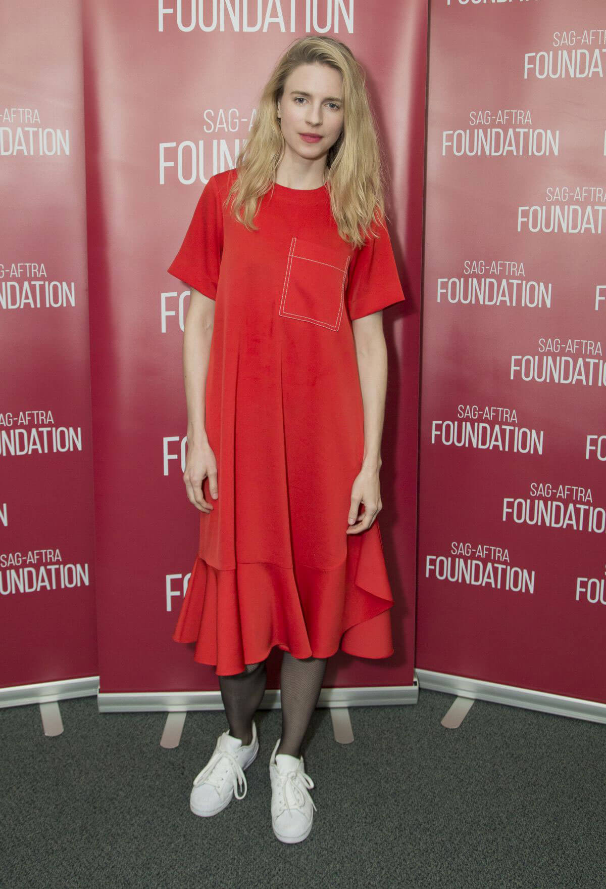Brit Marling Stills at SAG-AFTRA Foundation – The Business – Creative Chemistry- Collaboration