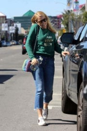 Busy Philipps Stills in Jeans Out in Los Angeles