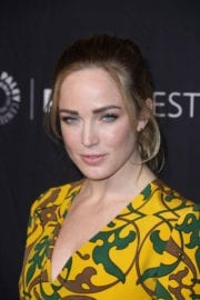Caity Lotz Stills at Heroes & Aliens Panel at Paleyfest in Hollywood