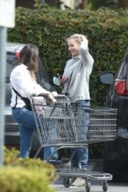 Cameron Diaz Stills Out for Grocery Shopping in Los Angeles 3