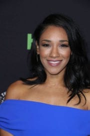 Candice Patton Stills at Heroes & Aliens Panel at Paleyfest in Hollywood