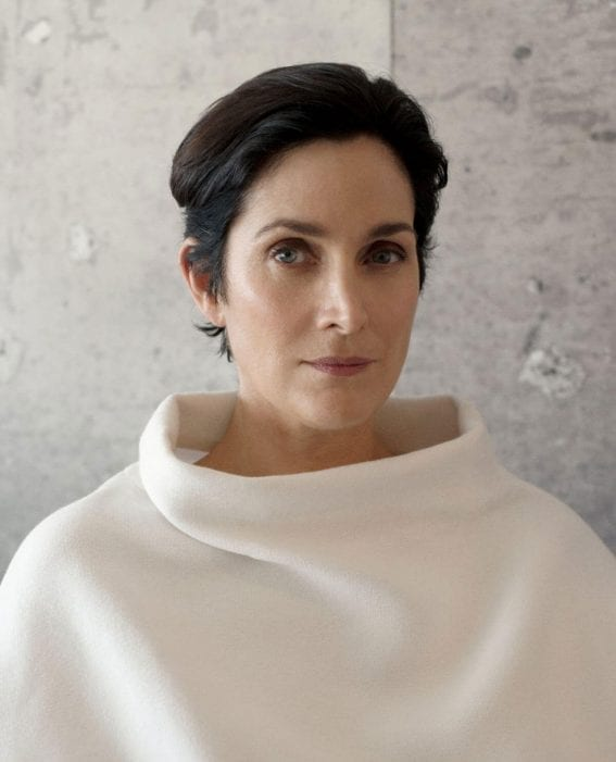 Carrie-Anne Moss Photoshoot for Montecristo Magazine