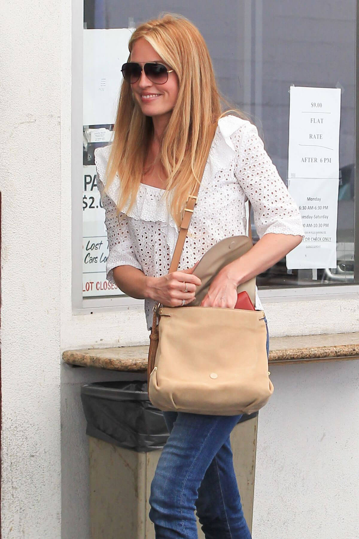 Cat Deeley Stills Out and About in Beverly Hills