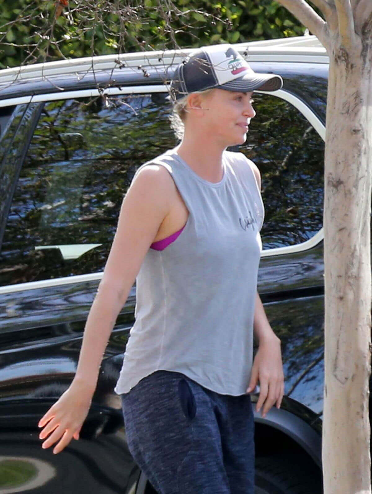 Charlize Theron Stills Out and about in Los Angeles
