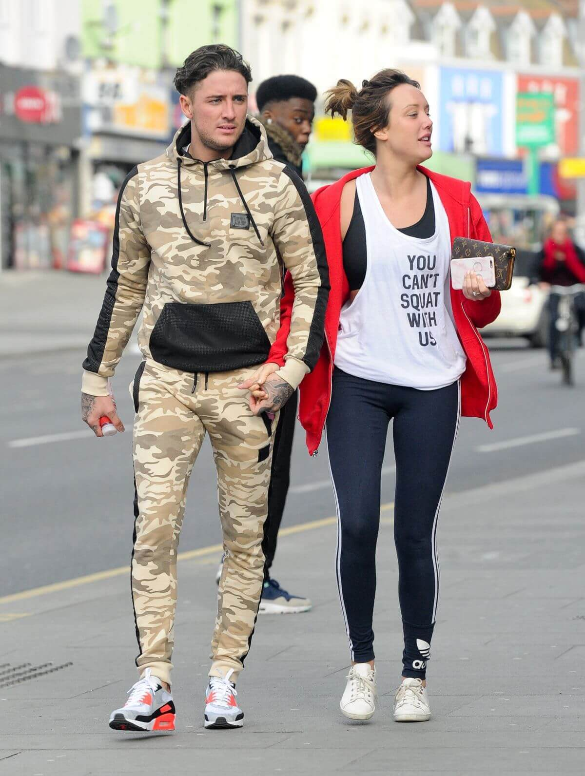 Charlotte Crosby Stills Out and About in London 2