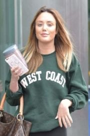 Charlotte Crosby Stills Out and About in Newcastle