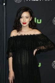 Christian Serratos Stills at The Walking Dead Panel at Paleyfest in Los Angeles