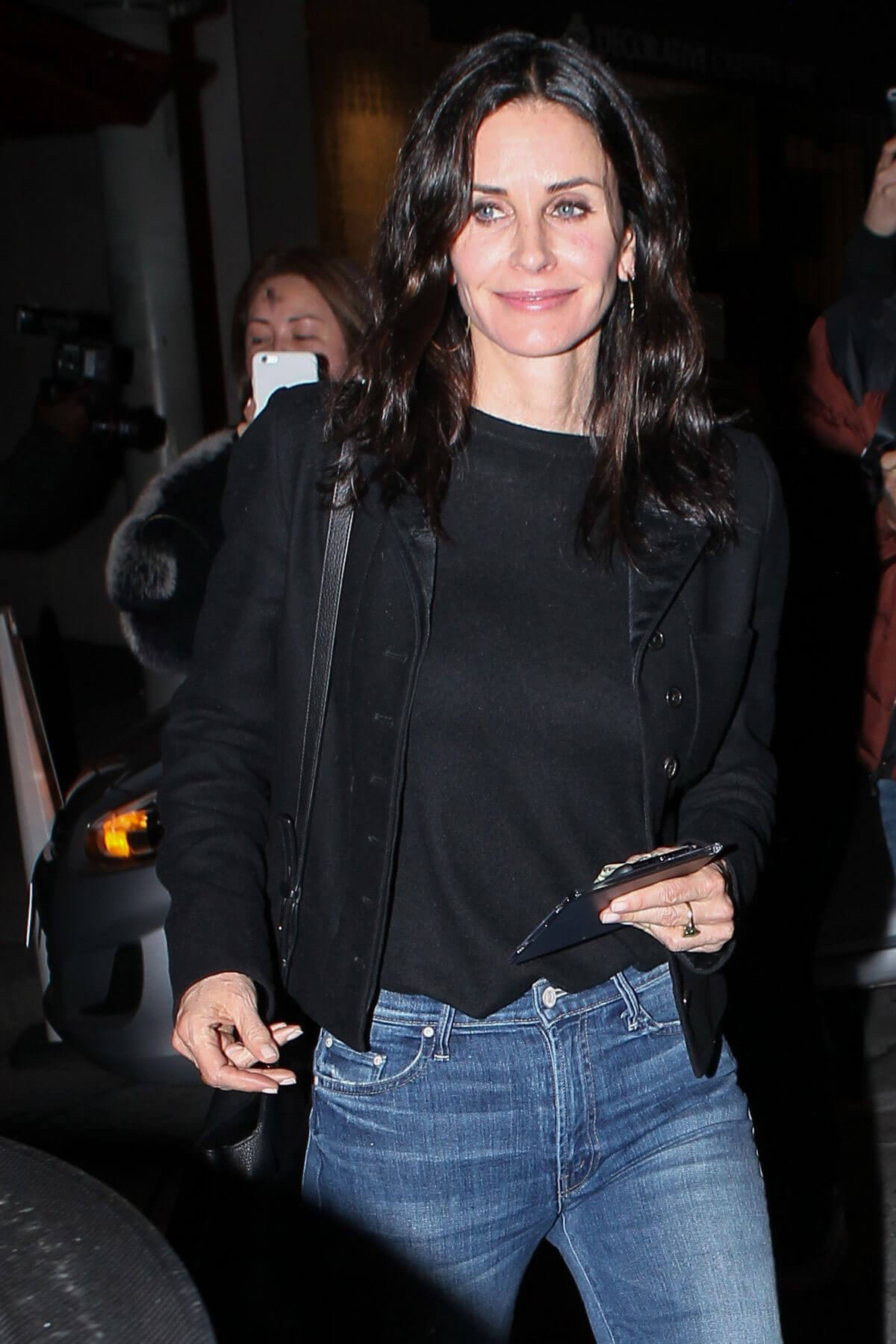 Courteney Cox and Sheryl Crow Stills Out for Dinner in West Hollywood, March 2017