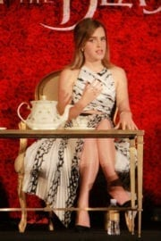 """Emma Watson Stills at """"Beauty and the Beast"""" Press Conference in Beverly Hills 3"""