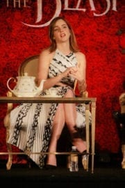 """Emma Watson Stills at """"Beauty and the Beast"""" Press Conference in Beverly Hills 4"""