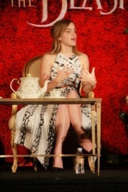 """Emma Watson Stills at """"Beauty and the Beast"""" Press Conference in Beverly Hills 5"""