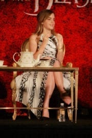 """Emma Watson Stills at """"Beauty and the Beast"""" Press Conference in Beverly Hills 8"""