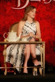 """Emma Watson Stills at """"Beauty and the Beast"""" Press Conference in Beverly Hills 9"""