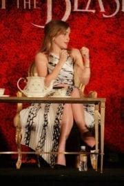 """Emma Watson Stills at """"Beauty and the Beast"""" Press Conference in Beverly Hills 10"""