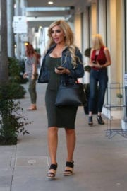 Farrah Abraham Stills Out in Beverly Hills, March 2017