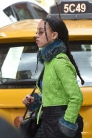 FKA Twigs Stills Out and About in New York