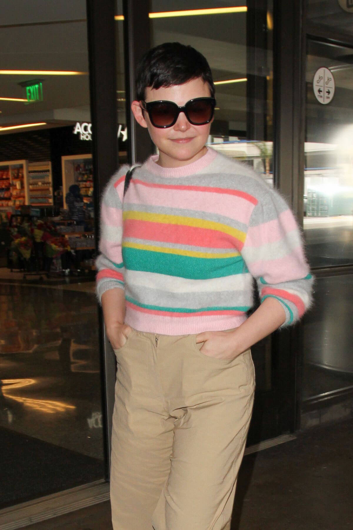 Ginnifer Goodwin Stills at LAX Airport in Los Angeles