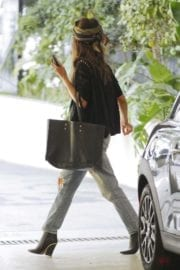 Halle Berry Stills Out in Beverly Hills