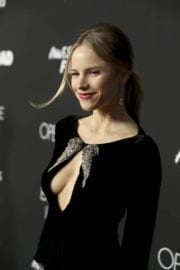 """Halston Sage Stills at """"Before I Fall"""" Premiere in Los Angeles"""