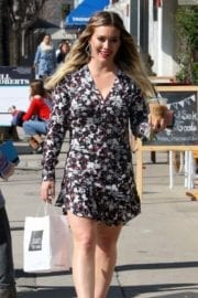 Hilary Duff Stills Out and About in Studio City