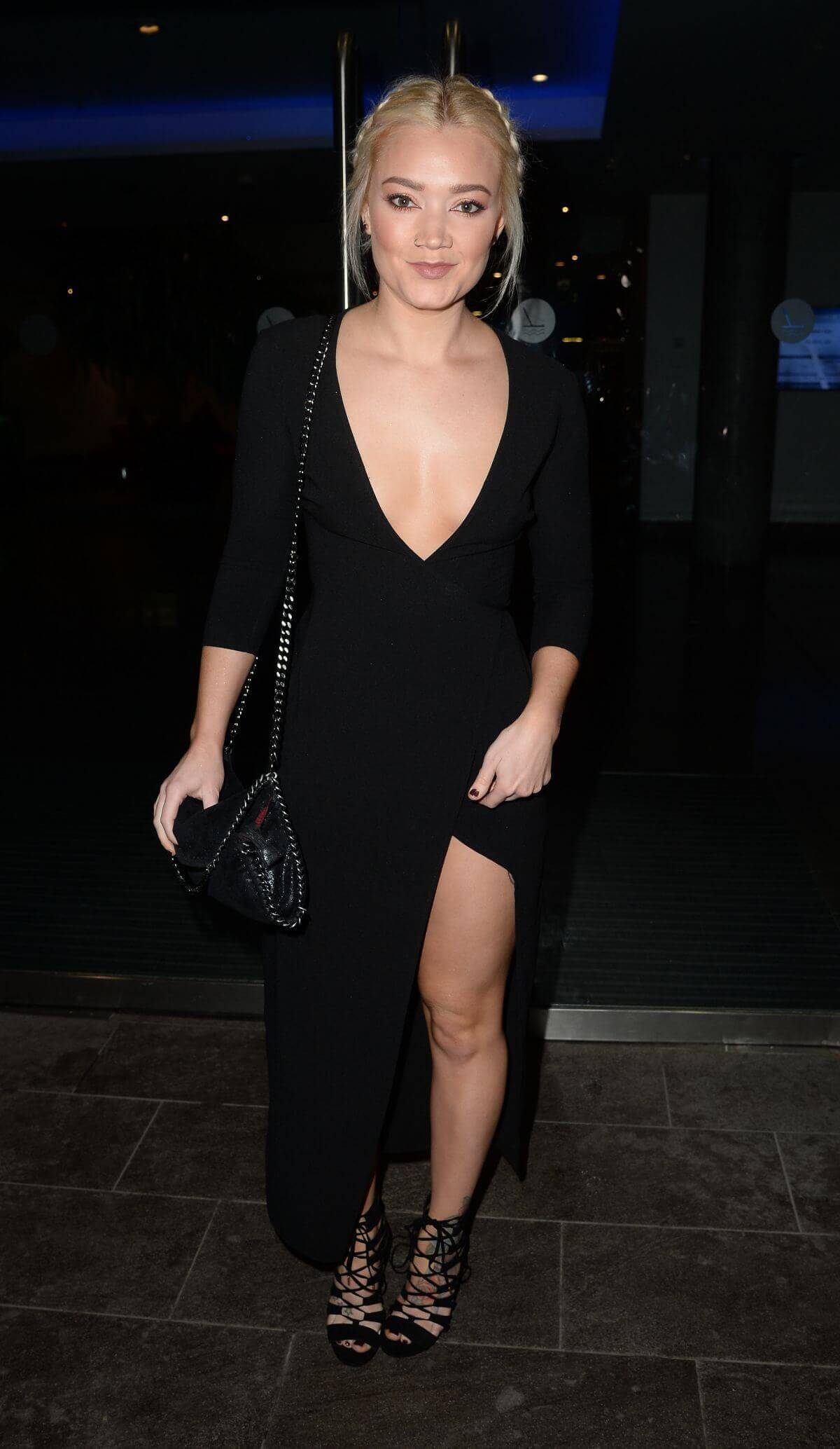 Hollie-Jay Bowes Stills at Lowry Hotel in Manchester