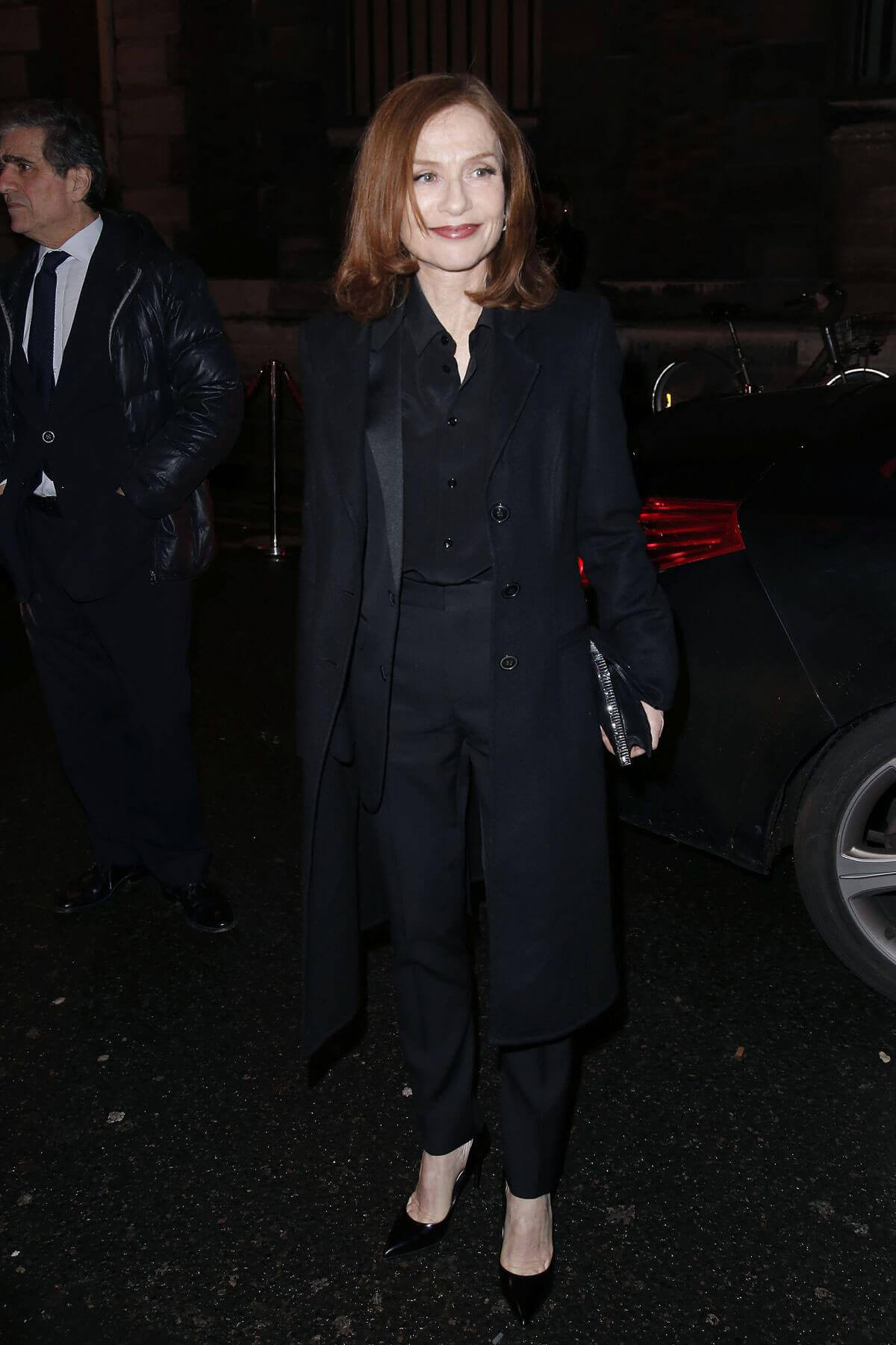 Isabelle Huppert Stills at L'Oreal Dinner in Paris 1