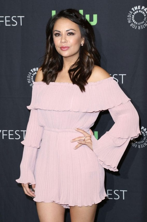 Janel Parrish Stills at Pretty Little Liars Panel at Paleyfest in Hollywood