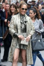 "Jennifer Lopez Stills Leave ""The View"" in New York"