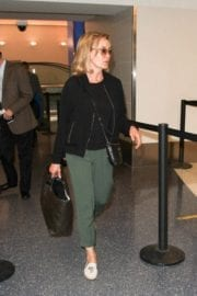Jessica Lange Stills at LAX Airport in Los Angeles