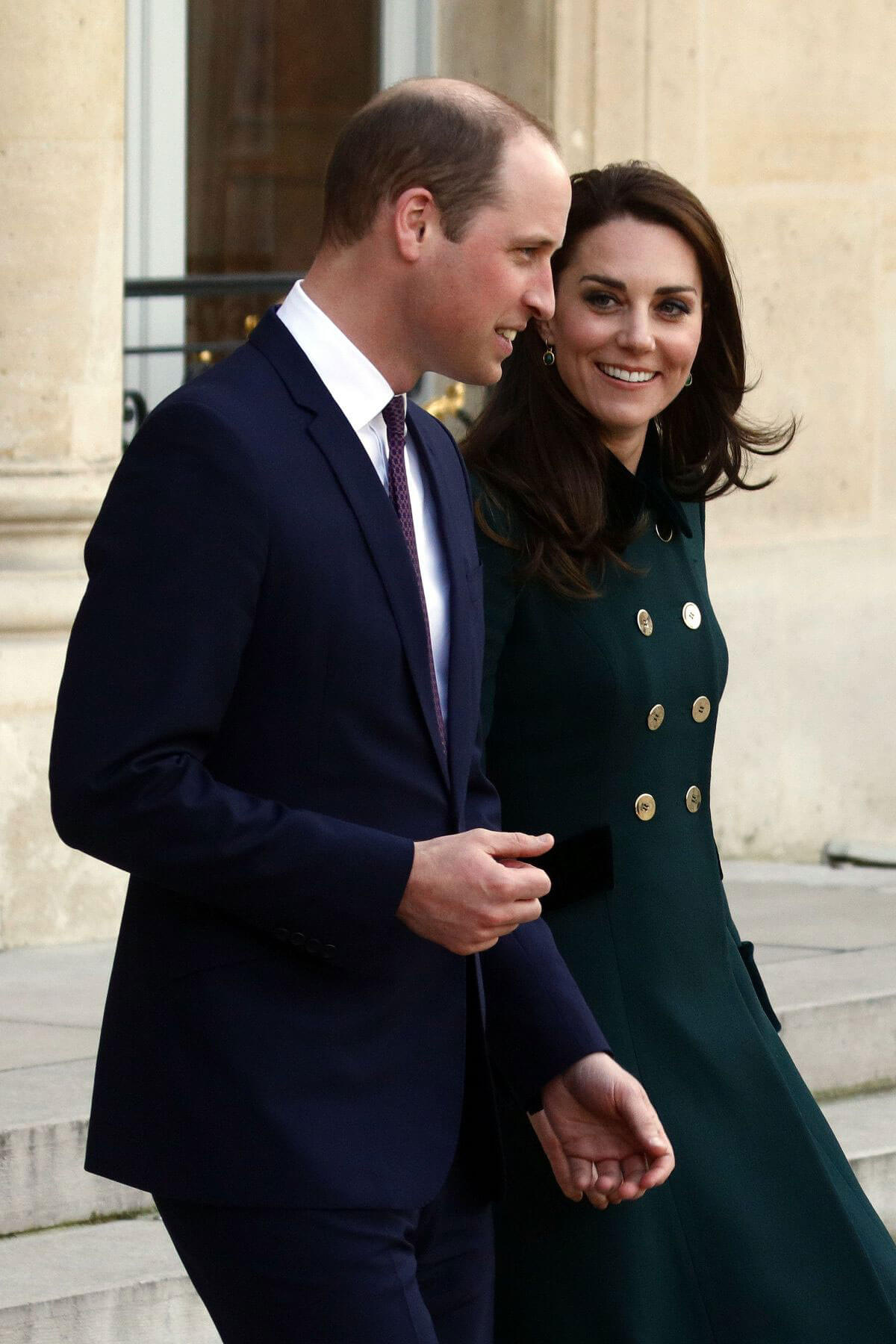 Kate Middleton and Prince William Stills at Elysee Palace in Paris