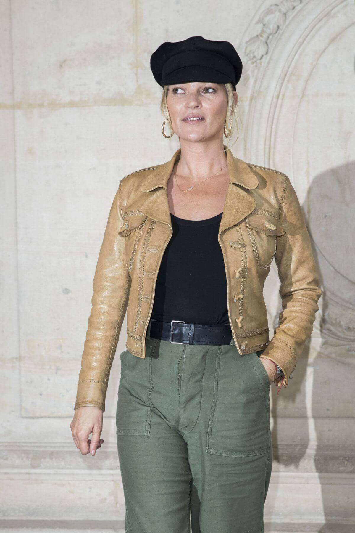 Kate Moss Stills at Christian Dior Fashion Show in Paris 1